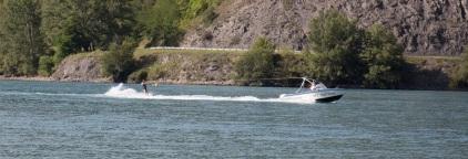 Lac de Serre-Ponçon - Ski nautique